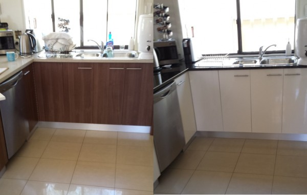 Before & After Kitchen Resurfacing